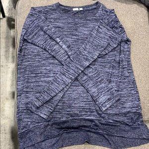 Gap softspun long sleeve sweater/top